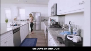 Lovely blonde teen and handy guy are wrestling for the favor of some money and ending up fucked hard