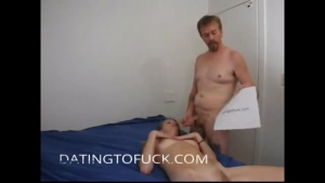 A huge cock cannot make no tits show in front of a show like this babe is
