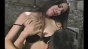 Horny Jordan Ko is getting fucked on the sofa, while her boyfriend is out of town